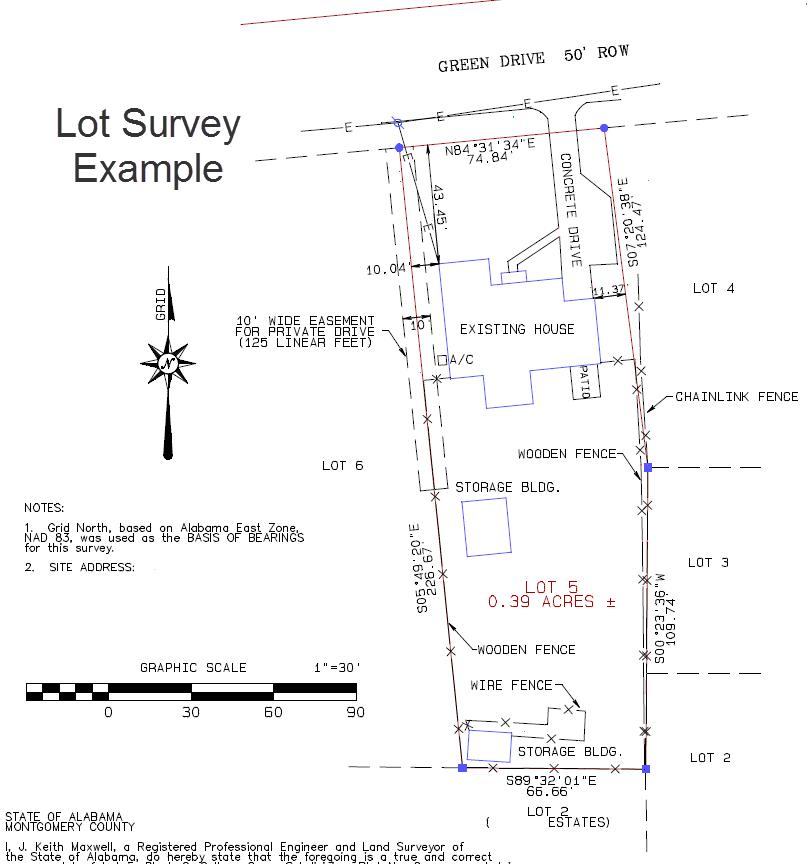 lot survey